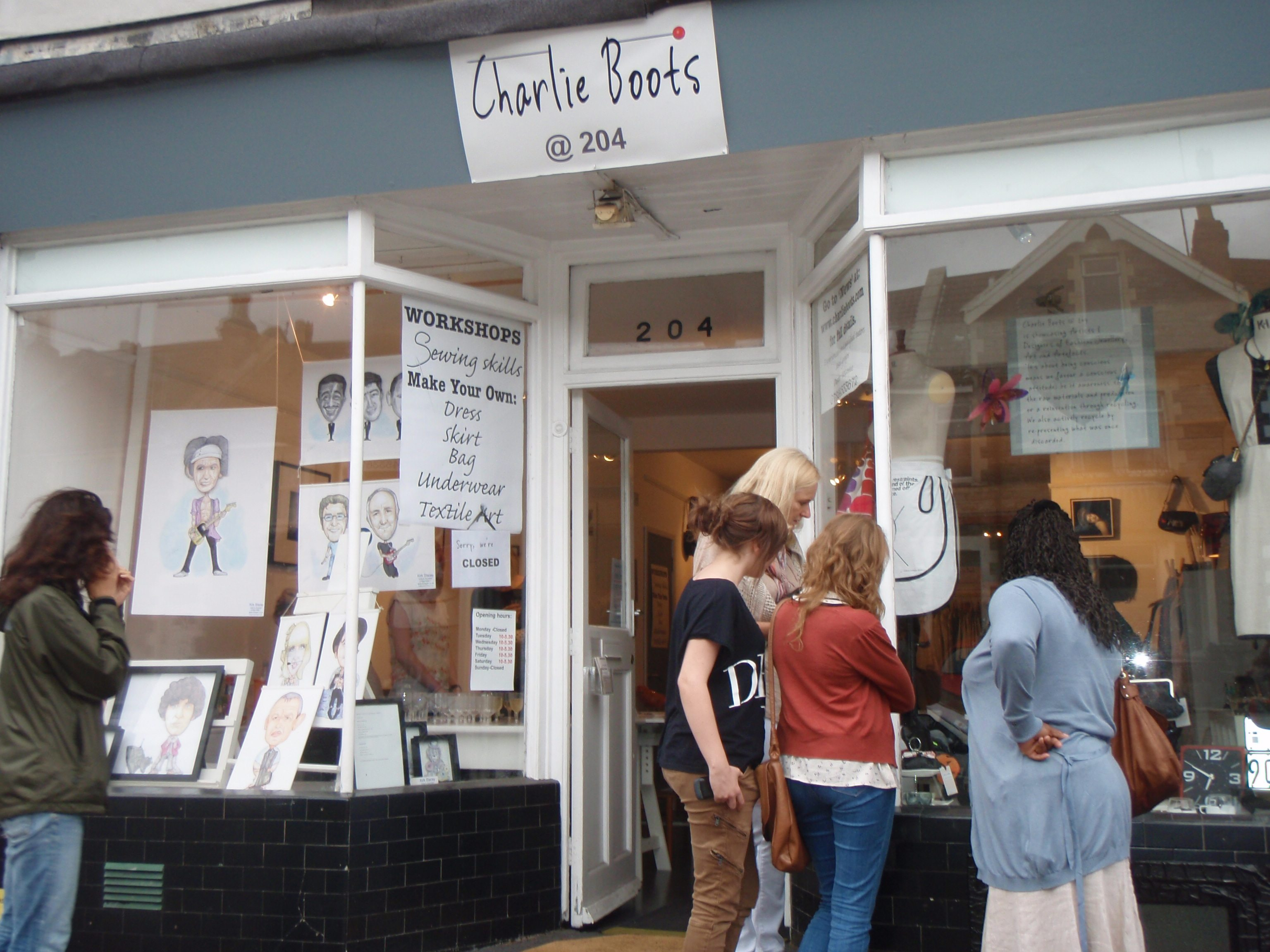 Charlie Boots at 204 Gloucester Road