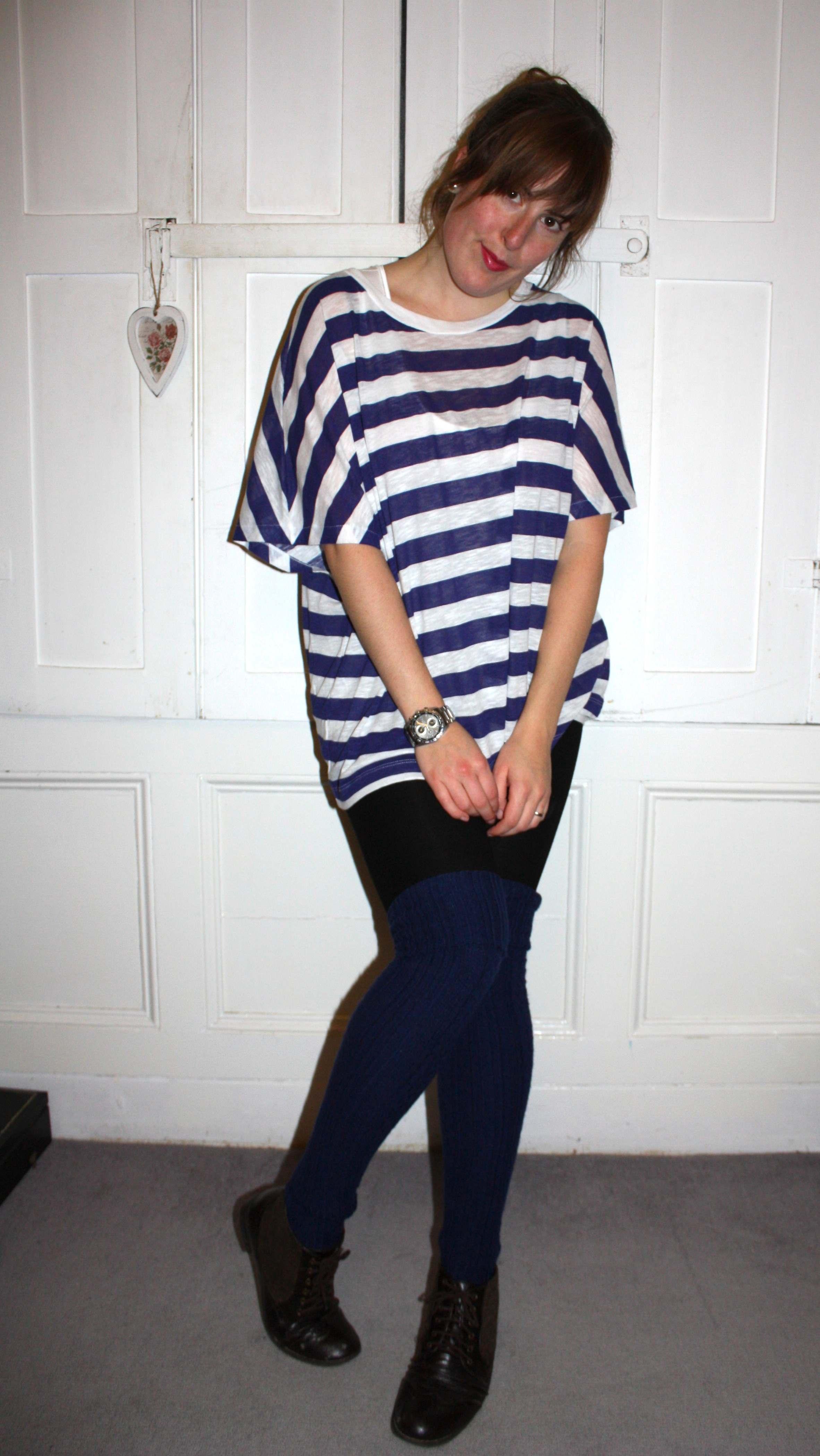 Stripe Zara t-shirt