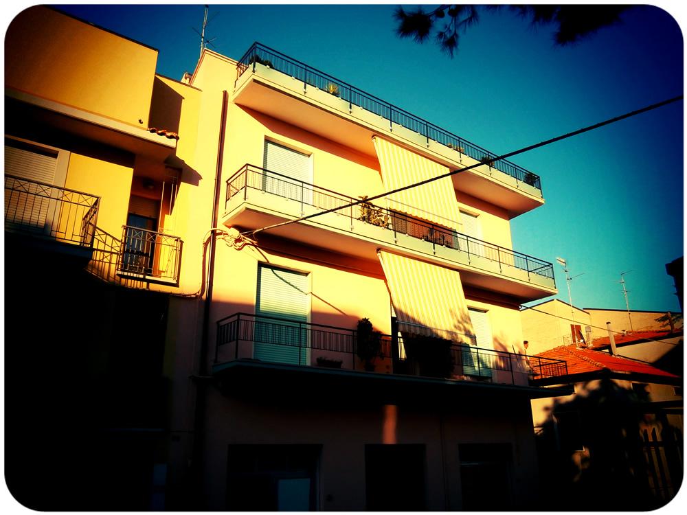 Pastel apartments