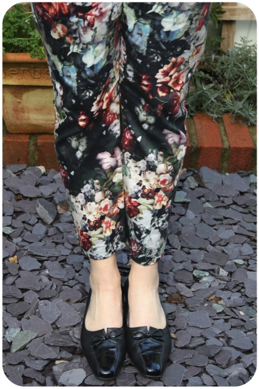 Topshop floral print trousers | Ship-Shape and Bristol Fashion