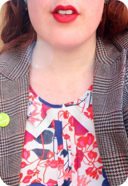 Oasis sundress double peter pan collar