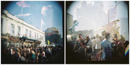 St Pauls double exposure photographs