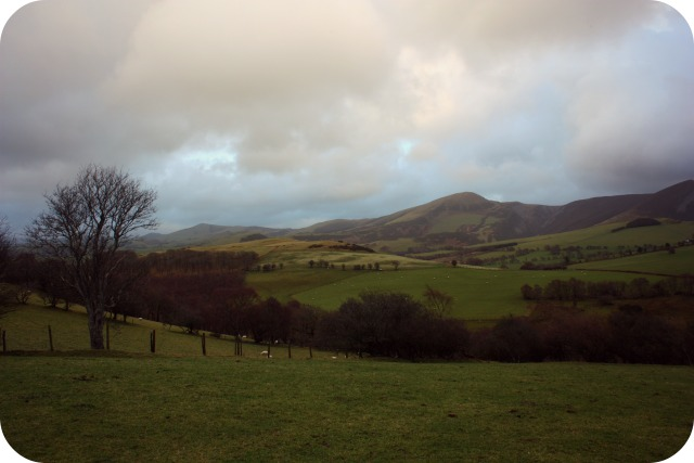 The Welsh countryside