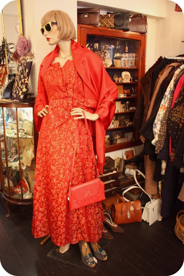 Red vintage floor length gown.jpg