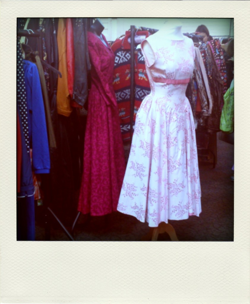 Dresses at Bristol Vintage Fair