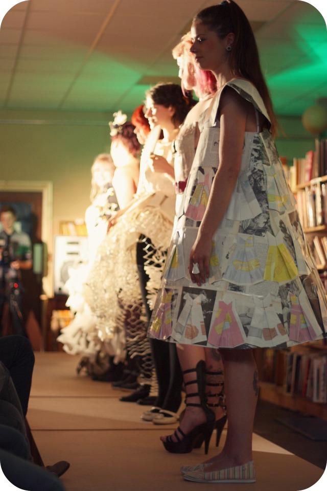Bookbarn International Out of Print fashion show