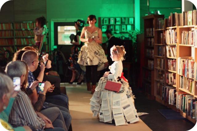 Paper princess dress