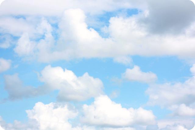 Blue skies over Bristol
