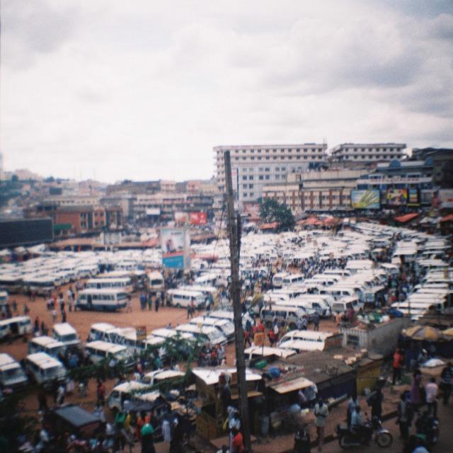 Kampala bus park