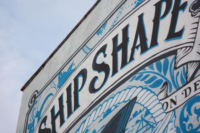 Ship-Shape graffiti