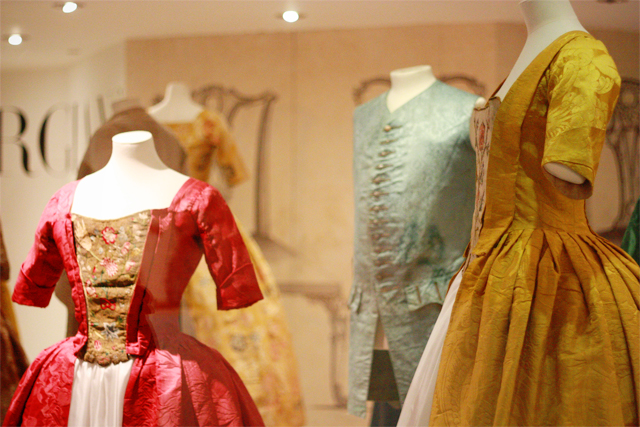 Georgian exhibition at Fashion Museum