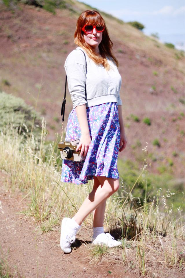 Floral ootd at Twin Peaks