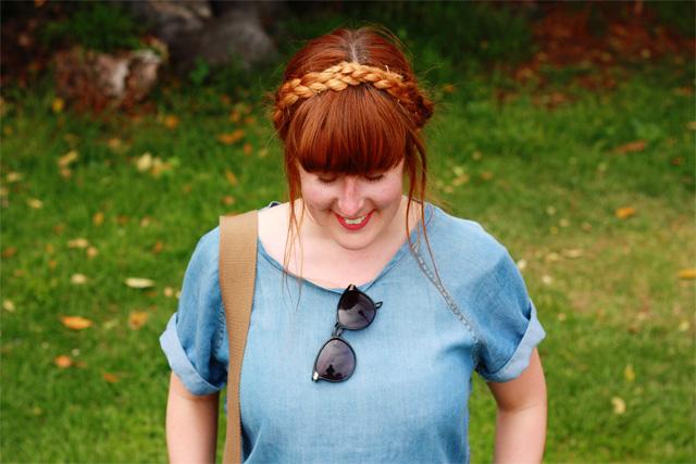 Milkmaid Heidi braids
