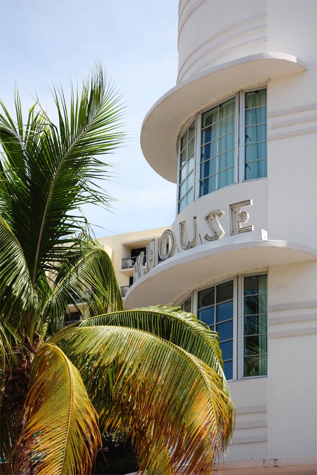 South Beach Art Deco hotel