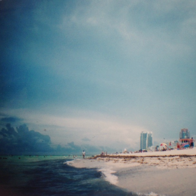South beach lomography photo