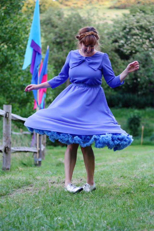 Spinning dresses