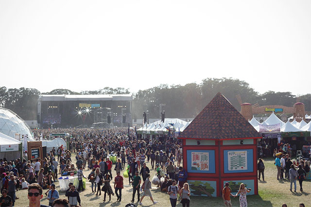 Outside Lands in Golden Gate Park