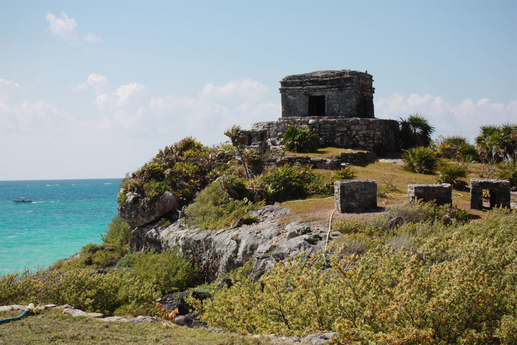 Tulum ruins Mexico travel diary