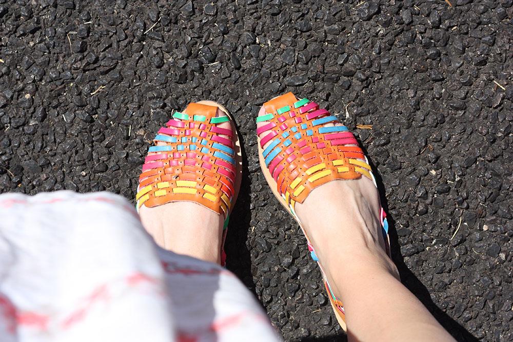 ASOS woven sandals