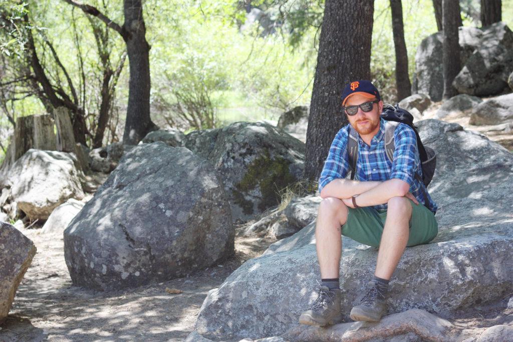 Relaxing in Yosemite