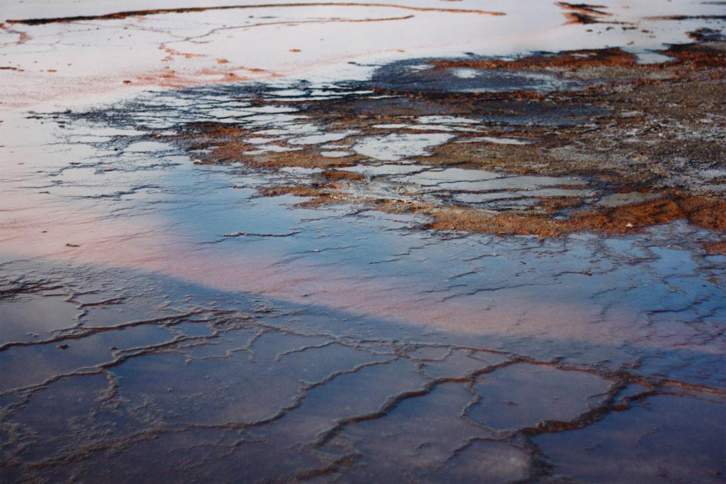 Yellowstone geothermal pools
