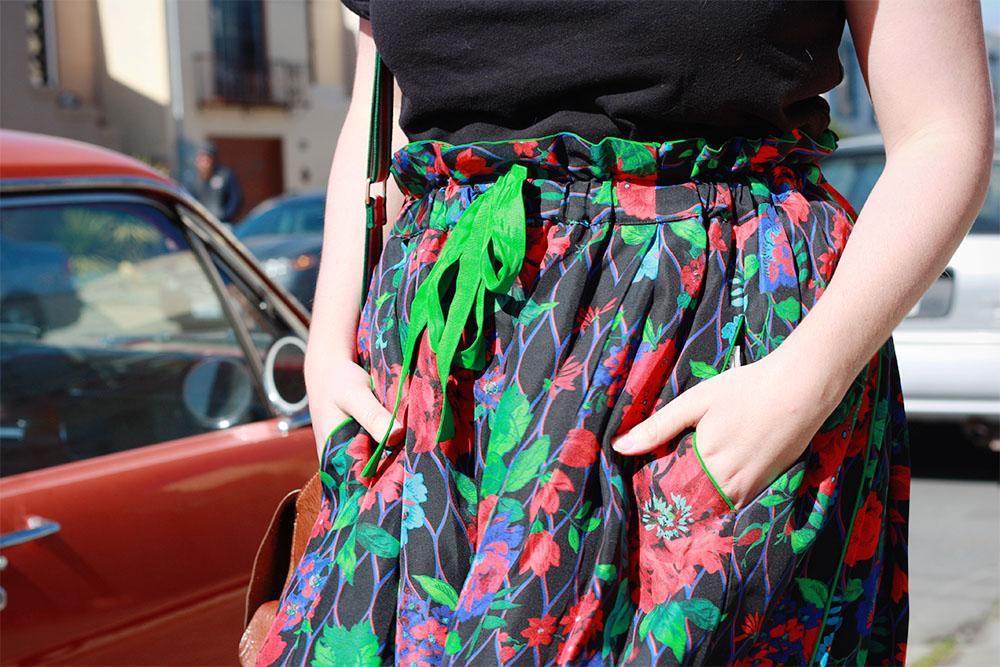 Kenzo HM paperbag waist trousers